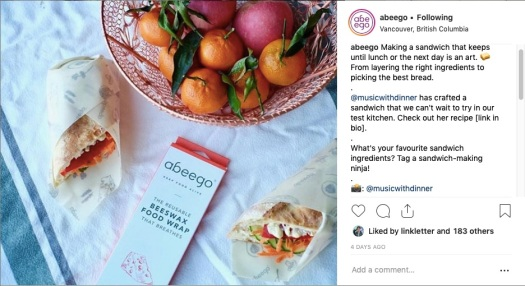 Abeego Instagram Campaign
